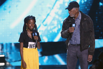 Morgan Freeman WE Day California To Celebrate Young People Changing The World