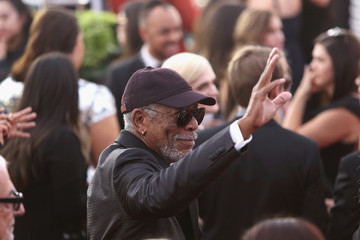 Morgan Freeman 24th Annual Screen Actors Guild Awards - Fan Bleachers
