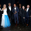 Morgan Freeman BET Presents The 51st NAACP Image Awards - Backstage