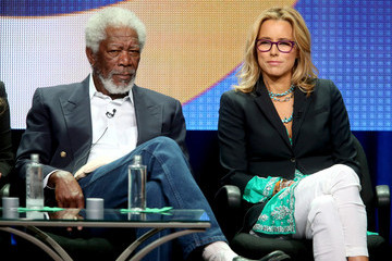Morgan Freeman 2014 Summer TCA Tour: Day 10