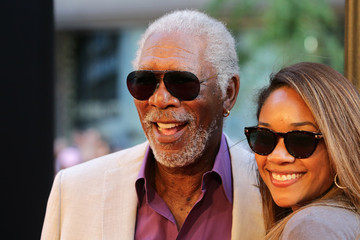 Morgan Freeman Celebs Arrive at the 'Ted 2' New York Premiere