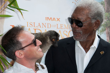 "Morgan Freeman Premiere Of Warner Bros. Pictures And IMAX Entertainment's ""Island Of Lemurs: Madagascar"" - Arrivals"