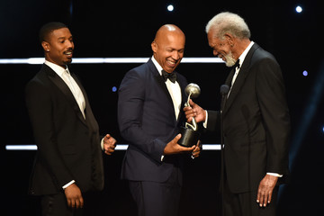 Morgan Freeman BET Presents The 51st NAACP Image Awards - Show