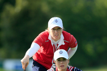 Morgan Pressel The Solheim Cup - Day One