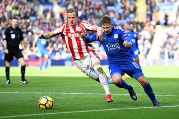 Moritz Bauer Leicester City vs. Stoke City - Premier League