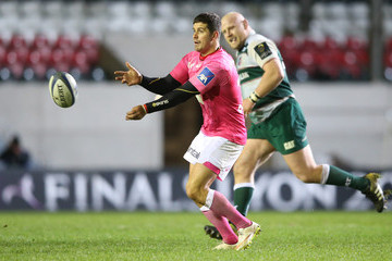 Morne Steyn Leicester Tigers v Stade Francais Paris - European Rugby Champions Cup