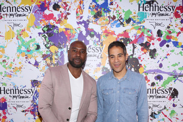 Morris Chestnut Hennessy V.S Limited Edition by JonOne Launch