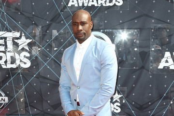 Morris Chestnut Celebs Arrive at the 2015 BET Awards