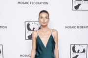 Jelena Jankovic attends the Mosaic Federation Gala Against Human Slavery on September 10, 2019 at Cipriani 42nd Street in New York City.