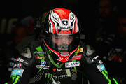 Tom Sykes of Great Britain leaves the pit garage during qualifying for the Motul FIM Superbike World Championship at Donington Park on May 26, 2018 in Castle Donington, England.