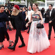 """Mounia Meddour """"Les Intranquilles (The Restless)"""" Red Carpet - The 74th Annual Cannes Film Festival"""