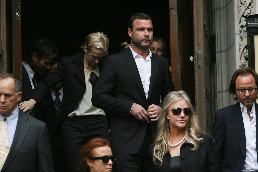 Mourners Attend Dominick Dunne's Funeral Service - Zimbio