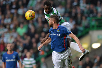 Moussa Dembele Celtic v Linfield - UEFA Champions League Qualifying Second Round: Second Leg