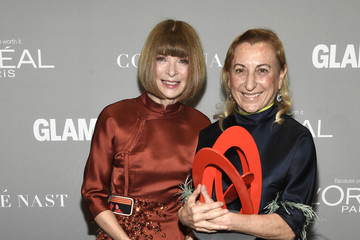 Muccia Prada Glamour Women of the Year 2016 - Backstage