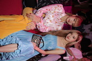 Singer Rose and Lisa of Blackpink attend the Mulberry A/W 18 event at K museum on September 6, 2018 in Seoul, South Korea.