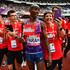 Mo Farah Photos - Mo Farah of Great Britain celebrates with fans after he won the Mens 3000m during the Muller Anniversary Games at London Stadium on July 9, 2017 in London, England. - Muller Anniversary Games