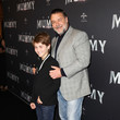 Russell Crowe and Tennyson Spencer Crowe Photos