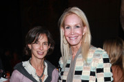 """(L-R)  Alice Tisch  and Joanne de Guardiola attend the Museum Of The City Of New York Director's Council """"New York After Dark"""" party  at The Pool Room at the Four Seasons on October 12, 2011 in New York City."""