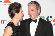Actress Jane Hajduk (L) and actor Tim Allen attend The Museum Of Contemporary Art, Los Angeles, Celebrates 35th Anniversary Gala Presented By Louis Vuitton at The Geffen Contemporary at MOCA on March 29, 2014 in Los Angeles, California.