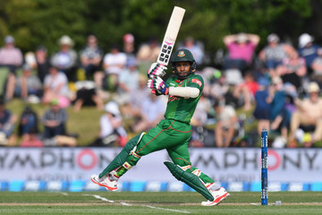 Mushfiqur Rahim New Zealand v Bangladesh - 1st ODI
