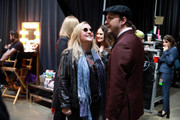(L-R) Melissa Etheridge and Gavin DeGraw attend MusiCares Person of the Year honoring Aerosmith at West Hall at Los Angeles Convention Center on January 24, 2020 in Los Angeles, California.