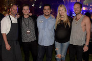Chris Bateman, Jared Followill, Aaron Sanchez, Holly Williams, and Chris Coleman attend the Music City Food + Wine Festival Harvest Night Presented By Infiniti on September 20, 2014 in Nashville, Tennessee.