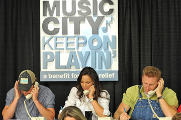 "Rodney Atkins ""Music City Keep On Playin'"" Benefit Concert - Phone Bank"