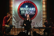 Charles Kelley, Hillary Scott and Dave Haywood of Lady Antebellum perform at Musicians On Call 10th Anniversary In Nashville With Lady Antebellum at City Winery Nashville on October 26, 2017 in Nashville, Tennessee.