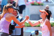 Maria Sharapova and Agnieszka Radwanska Photos Photo