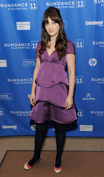 "Actress Zooey Deschanel attends ""My Idiot Brother"" Premiere at the Eccles Center Theatre during the 2011 Sundance Film Festival on January 22, 2011 in Park City, Utah."