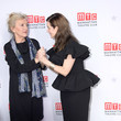Laura Linney and Elizabeth Strout Photos