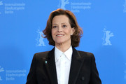 """Sigourney Weaver attends the """"My Salinger Year"""" photo call during the 70th Berlinale International Film Festival Berlin at Grand Hyatt Hotel on February 20, 2020 in Berlin, Germany."""