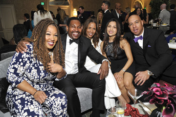 Mykelti Williamson Mercedes-Benz USA Awards Viewing Party At Four Seasons, Beverly Hills, CA