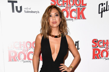 Myleene Klass Opening Night Of 'School Of Rock The Musical' - Red Carpet Arrivals
