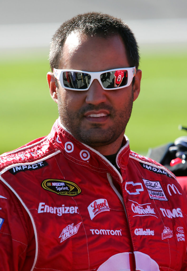 Juan Pablo Montoya Photos Photos - NASCAR Kansas Preview ...