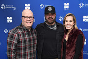 Jesse Addy, Randy Houser and Katie Neal attend  NASH FM 94.7's Up Close And Country at Hackensack Meridian Health Stage 17 on January 15, 2019 in New York City.