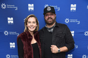 Katie Neal and Randy Houser attend NASH FM 94.7's Up Close And Country at Hackensack Meridian Health Stage 17 on January 15, 2019 in New York City.