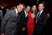 "(L-R) Actors Brian Geraghty, Elias Koteas, Marina Squerciati and Jesse Lee Soffer attend a premiere party for NBC's 'Chicago Fire', 'Chicago P.D.' and 'Chicago Med' at STK Chicago on November 9, 2015 in Chicago, Illinois. NBC has renewed popular dramas ""Chicago Fire"" and ""Chicago P.D."" for the 2016-17 season. ""Chicago Fire"" will be entering its fifth season while ""Chicago P.D."" will begin its fourth season."