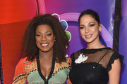 Lorraine Toussaint and Moran Atias attend NBC's New York Mid Season Press Junket at Four Seasons Hotel New York on January 24, 2019 in New York City.