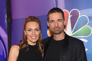 Michaela McManus and Warren Christie attend NBC's New York Mid Season Press Junket at Four Seasons Hotel New York on January 24, 2019 in New York City.