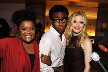 Gillian Jacobs Yvette Nicole Brown NBC Rooftop Party
