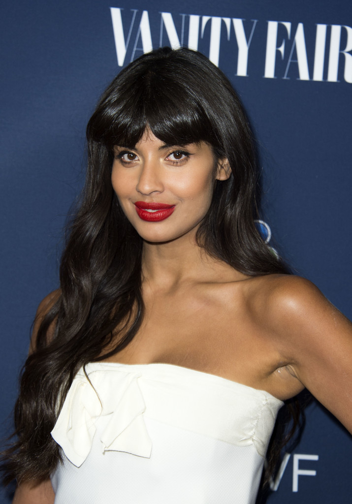 Jameela Jamil Calls For Body Confidence Education To Be On: NBC And Vanity Fair Toast The 2016