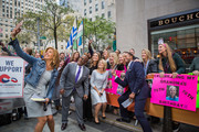 TODAY -- Pictured: Hoda Kotb, Al Roker, Savannah Guthrie, Dylan Dreyer and Craig Melvin on Friday, October 13, 2017 --