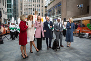 TODAY -- Pictured: Dylan Dreyer, Hoda Kotb, Savannah Guthrie, Matt Lauer, Al Roker and Megyn Kelly  on Monday, November 20, 2017 --