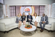 TODAY -- Pictured: (l-r) Dylan Dreyer, Savannah Guthrie, Matt Lauer, Hoda Kotb, and Al Roker on Tuesday Nov. 28, 2017 --