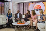 TODAY -- Pictured: Olivia Poff, Al Roker, Savannah Guthrie, Hoda Kotb and Dylan Dreyer on Wednesday, November 29, 2017 --
