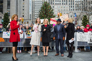 TODAY -- Pictured: Hoda Kotb, Savannah Guthrie, Megyn Kelly, Al Roker and Dylan Dreyer on Tuesday, December 12, 2017 --