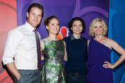 """Sam Jaeger, Erika Christensen, Max Burkholde and Monica Potter arrives at the NBCUniversal's """"2013 Summer TCA Tour"""" at The Beverly Hilton Hotel on July 27, 2013 in Beverly Hills, California."""