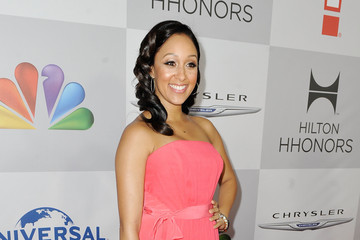 Tamera Mowry-Housley NBCUniversal's 69th Annual Golden Globes Viewing And After Party Sponsored By Chrysler And Hilton - Red Carpet