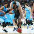 Hakim Warrick Photos - Hakim Warrick of Melbourne United drives to the basket during the NBL Semi Final match between Melbourne United and the New Zealand Breakers at Hisense Arena on February 18, 2016 in Melbourne, Australia. - NBL Semi Final - Melbourne v New Zealand